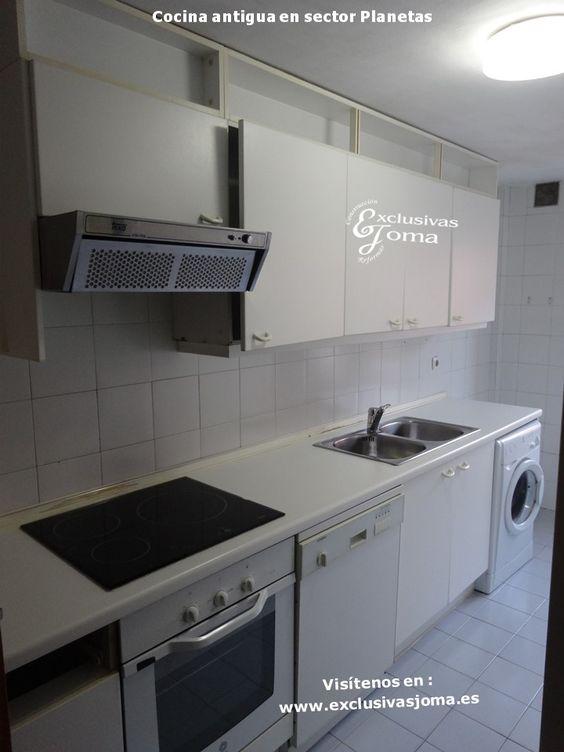 Reforma de cocina integral en chalets de sector planetas - Encimera de pizarra ...