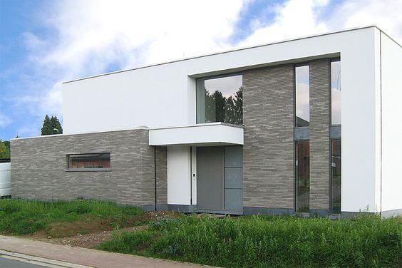 Röben Keramik-Klinker Yukon, LDF:  Een grijze steen die goed bij wit gaat
