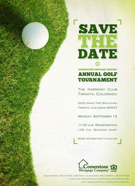 Designing a Golf Tournament Flyer - Bing Images Projects - golf tournament brochure