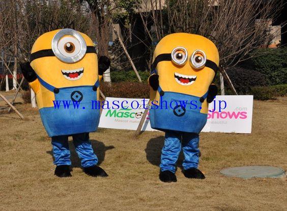 新版ミニオンキャラクター着ぐるみ http://www.mascotshows.jp/product/buy-minions-mascot-costume-despicable-me-character-mascot-costume.html