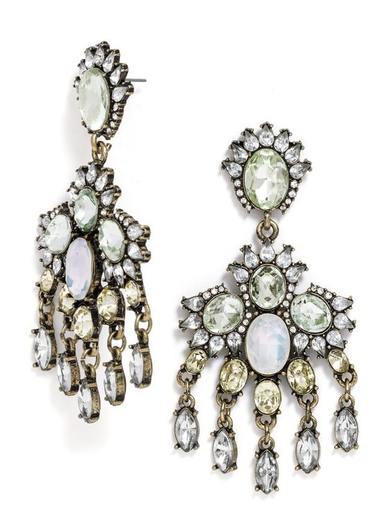 Citrine adds light color to intricate gem clusters.