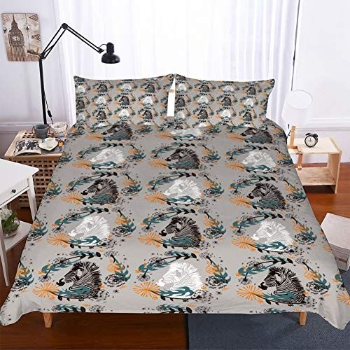 Apjjq Home Decor Animal Printed 3d Bedding Set For Adults