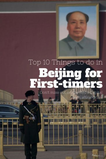 10 things to do in Beijing for the first timers! Get a list of the attractions you shouldn't miss when you visit the Red Capital.