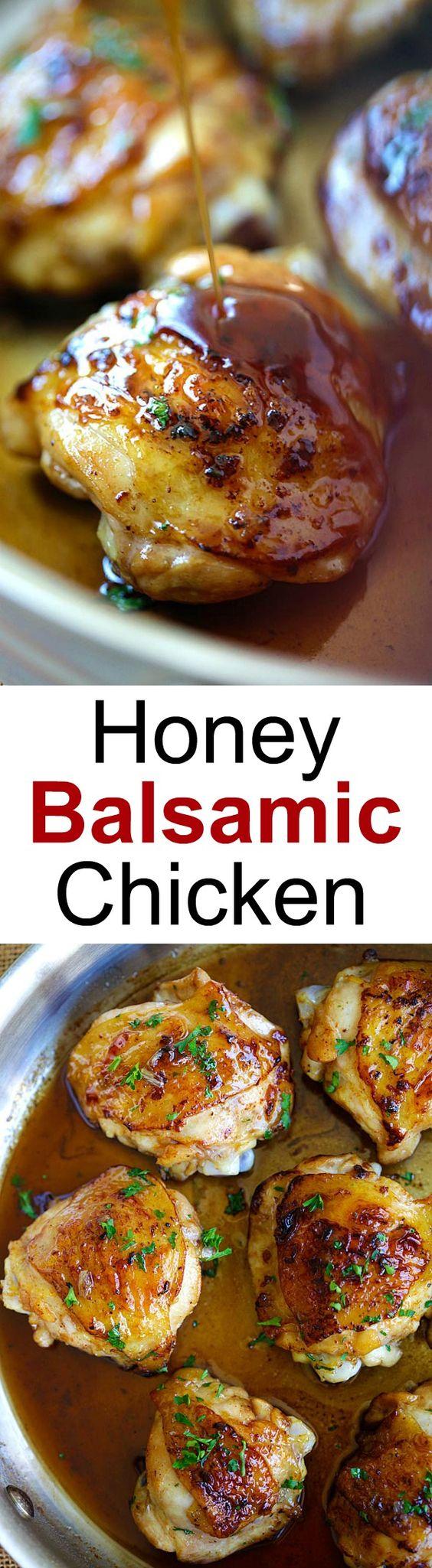 ... Recipe | Honey Balsamic Chicken, Balsamic Chicken and Skillet Chicken
