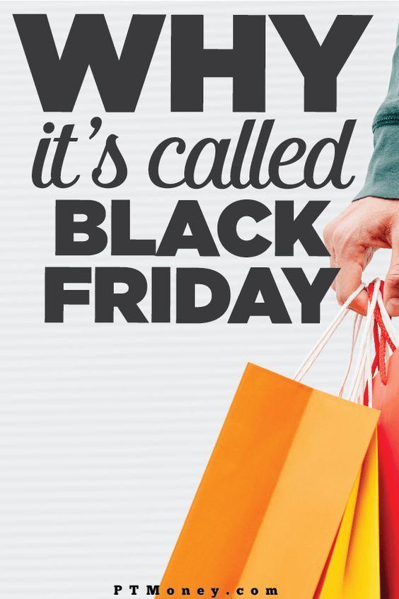 Why Black Friday Is Called Black Friday Black Friday Money Mindset Ways To Save Money