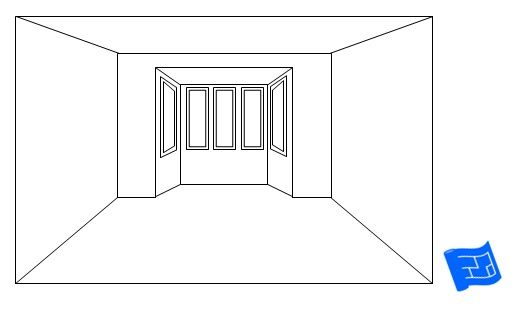 A Bay Window Where The Ceiling Height Is Lowered Creates A Cozy Feeling Click Through To Www Houseplanshelper Com F Window Design Bay Window Design Bay Window