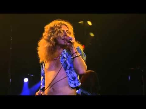Led Zeppelin Rock And Roll and Black Dog Live HD. Robert Plant and Jimmy Page on fire.