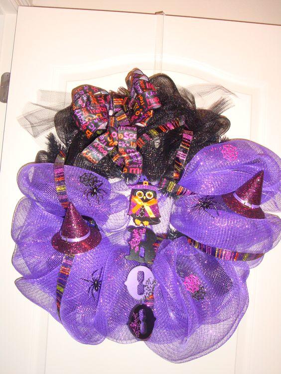 BOO!! - Halloween wreath  $65.00