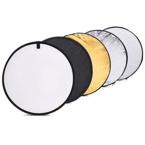 Borogo 24 60cm 5 In 1 Portable Round Reflector Collapsible Multi Disc Photography Light Ph With Images Reflector Photography Photography Accessories Photography Reviews