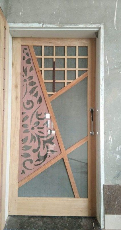Wooden Jali Door Design Main 64 Ideas In 2020 Door Glass Design Door Design Main Door Design