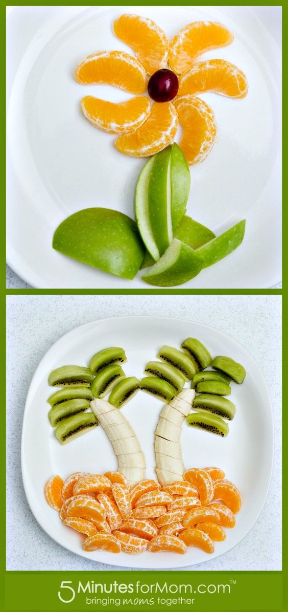 Cute Food for Kids - Make Fruit Art with Your Kids