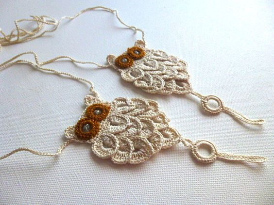 Crochet Owl Barefoot Sandals,Beach Pool,Nude shoes,Foot jewelry,Wedding shoes,