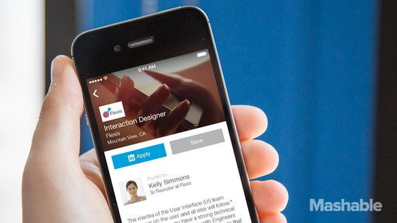 LinkedIn Unveils New App Dedicated to Job Searches Job search - resume app