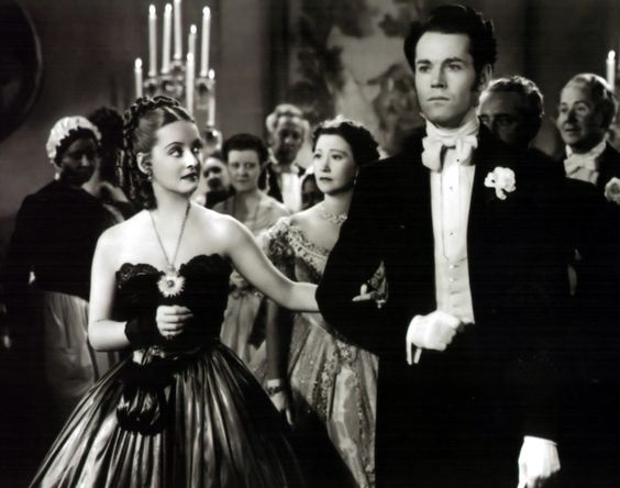 Bette Davis and Henry Fonda in Jezebel (1938)