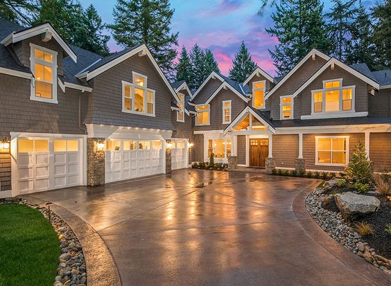 Luxury house plans house plans and craftsman on pinterest for Large craftsman house plans