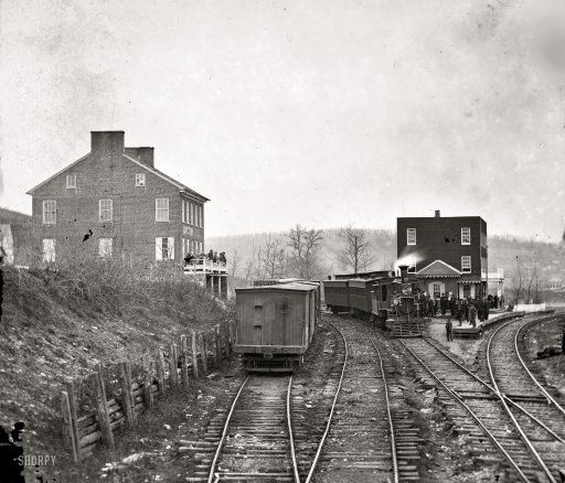 Hanover Junction, Pennsylvania: President Lincoln changed trains here on his way to Gettysburg