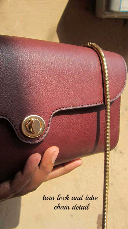 Women's leather handbags made in india