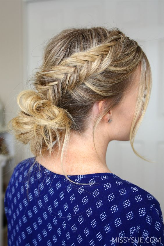 3 Fishtail Braid Peinados //  #Braid #Fishtail #Peinados