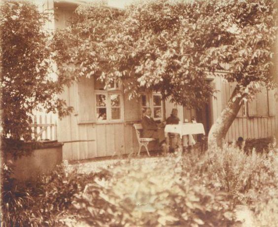 1900  Schifferhaus. Das Rote Haus
