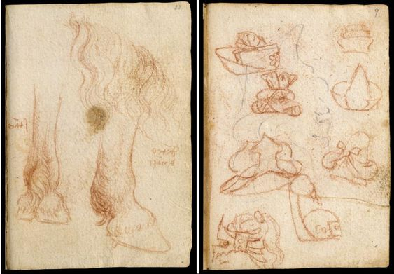 Leonardo da Vinci's Huge Notebook Collections, the Codex Forster, Now Digitized in High-Resolution: Explore Them Online | Open Culture