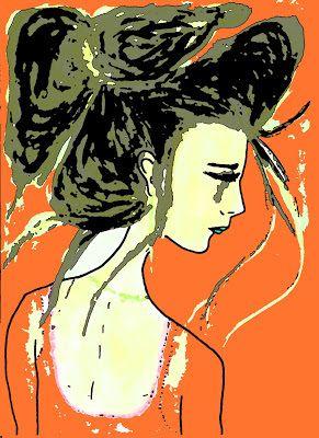 Lola Kabuki: PINTURAS GEMELAS Acuarela, pintura, ilustración, watercolor, art, art, ilustration