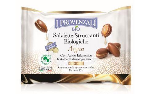 I Provenzali Bio Argan-Salviette Struccanti