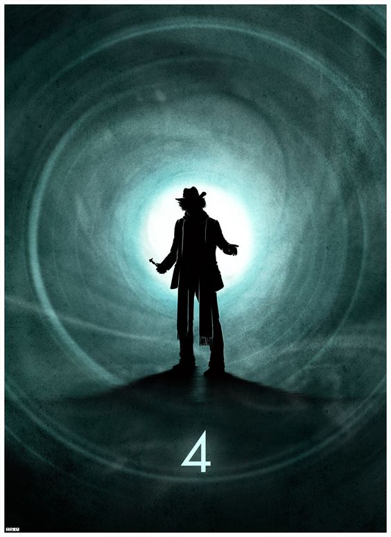 12 incredible Doctor Who posters - the 4th Doctor
