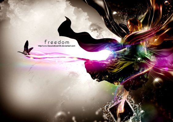 freedom by Secondbrain56.deviantart.com on @deviantART