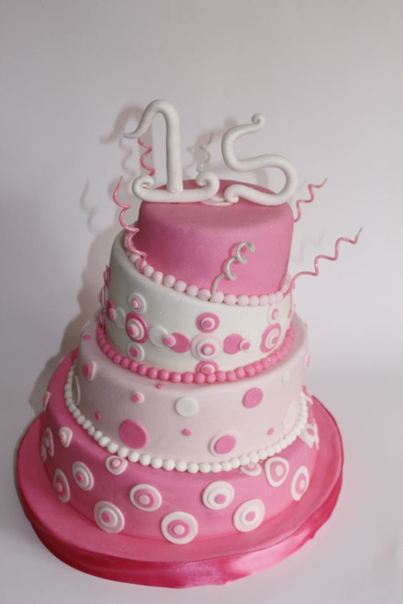 Torta 15 a os 100 comestible tortas 15 pinterest for Ornamentacion para 15