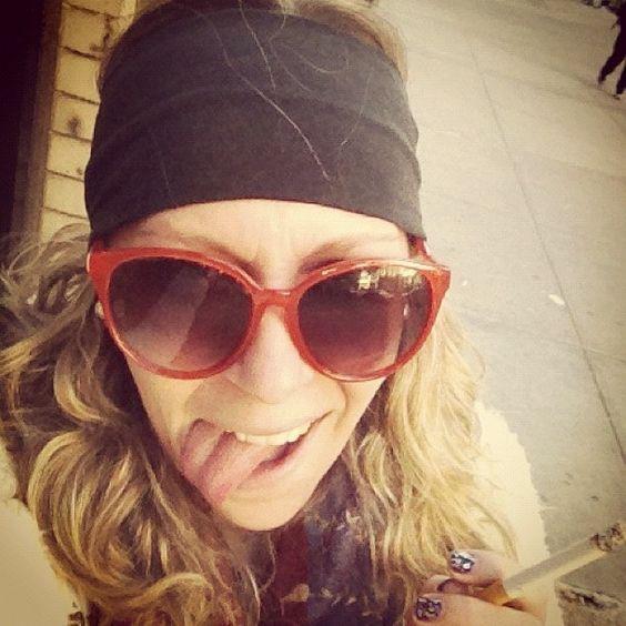#MNG Orange #Sunglasses