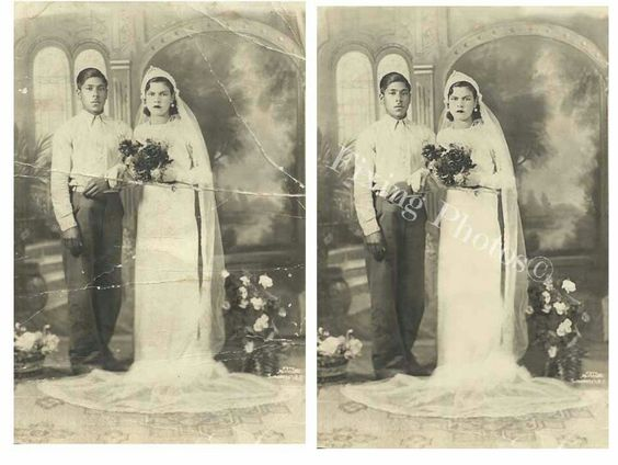 Restore and repair photos (vintage, damaged by time photos). Restored them back to life...free quotes  http://www.fixingphotos.com #photorestoration
