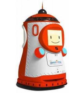 "Tokyo Tower Robot! 東京タワーに8月1日、全国初の""自走式展望台ガイドロボット""が導入され、スタッフの一員として大展望台でガイドを開始する。"