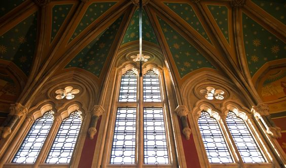 St Pancras Renaissance Hotel interior: