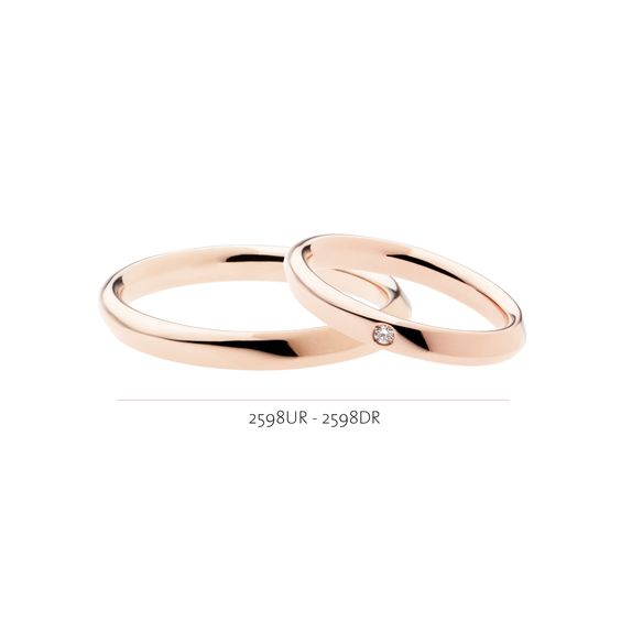 Wedding rings made in Italy. Polello wedding bands.