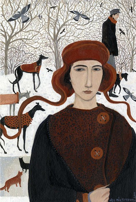 Dee Nickerson - New world, 2015:
