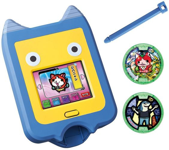 Bandai yokai watch yokai pad toys games for Chambre yo kai watch