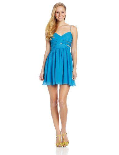 Hailey Logan by Adrianna Papell Juniors Short Mesh Inset Dress, Lake, 1 Hailey Logan by Adrianna Papell,http://www.amazon.com/dp/B00DVM93FC/ref=cm_sw_r_pi_dp_HTRIsb1SDNZVPSA3