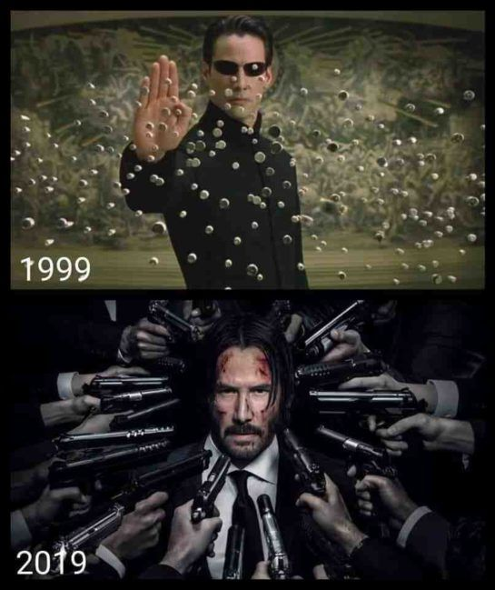 Best 10 Year Challenge Pictures 18 Pictures John Wick Meme Keanu Reeves Keanu Reeves Meme