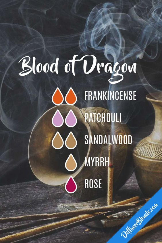 Dragon's Blood essential oil diffuser blend