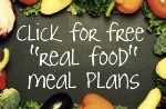 real food plans