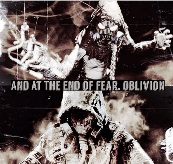 the fear of oblivion I've had this awful fear of oblivion since about the age of 3, and i've managed to forget it for about 11 years now, but suddenly the fear has returned and i can't stop thinking about what.