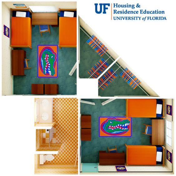 University of florida springs dorm address for Best housing at uf