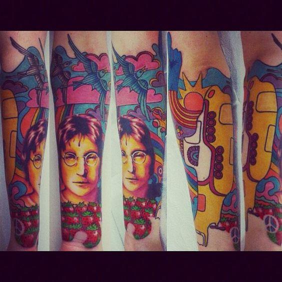 Beatles sleeve by Polska Kudlinski, Santos - Brazil andChristian Ribeiro, São Paulo - Brazil.