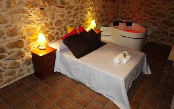 Castellon vilar de canes casa rural hedra relax con una capacidad de 2 plazas m s 1 - Casa rural castellon jacuzzi ...