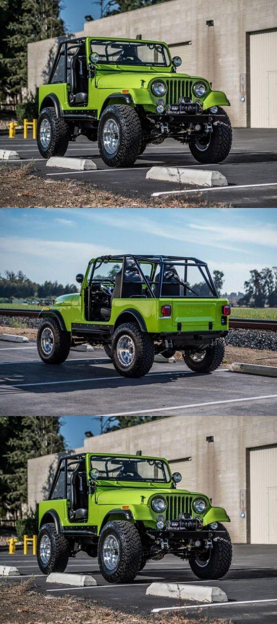 Sand Jeep Turbocharged 350 Ci Chevy Engine With Edelbrock 4