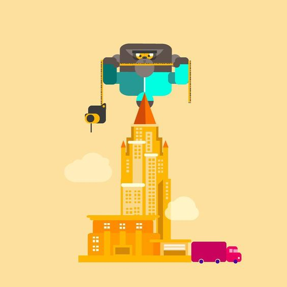 Throw back projects, Character design for BRANDCA'S brand, digital and design services, king kong for architectonic render in 2013 , all rights reserved #design #digital #flat #digital #digitalart #characterdesign #color #yellow #kingkong #gorilla #architecture #design #art #conceptart #illustration #render #digitaldesign #flatdesign #skycraper #instagram #instaphoto #instapic #tags #tagsforlikes