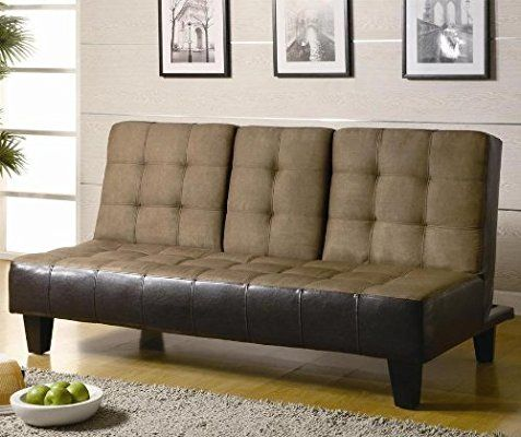 Amazon Com Coaster Sofa Bed Tan Kitchen Dining Sofa Bed Futon Sofa Sofa Upholstery