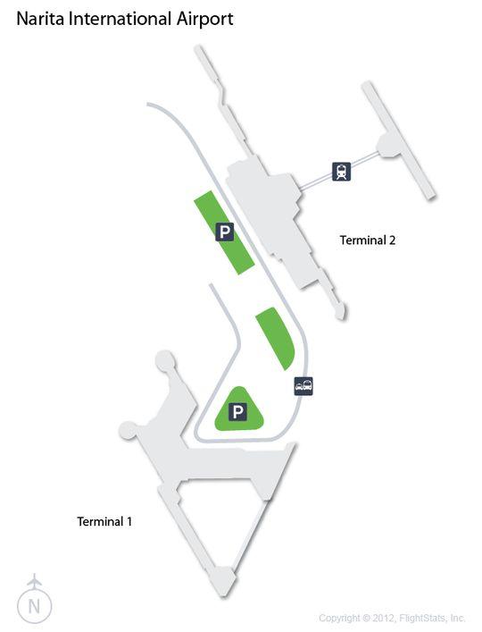 NRT) Narita International Airport Terminal Map | airports ...