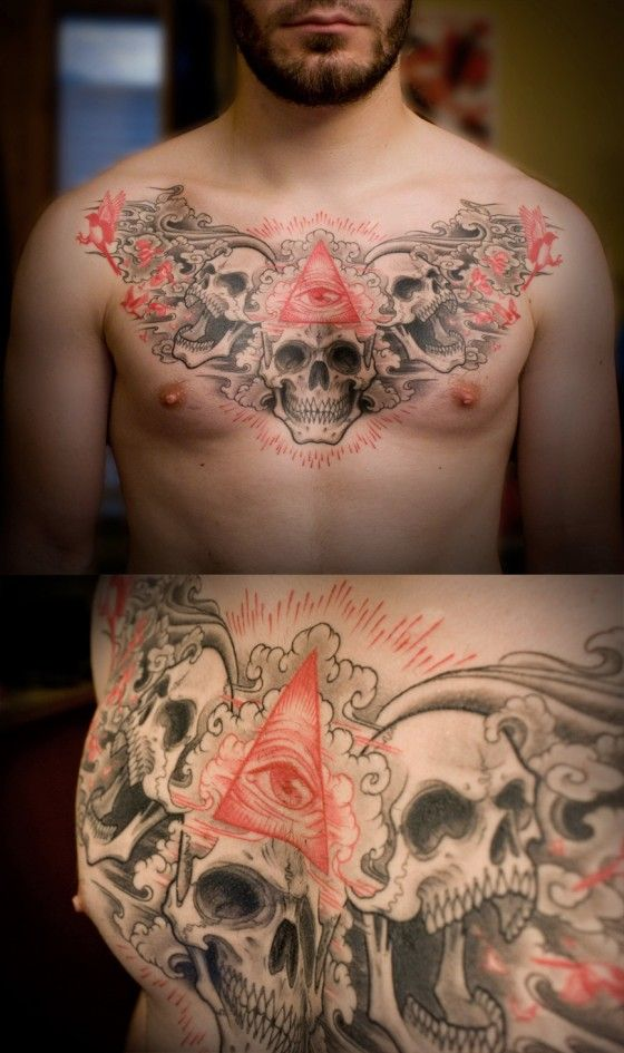 All Seeing Eye Skulls