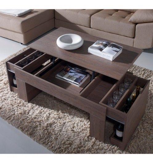 Table Basse Relevable Design Foncee Concept Table Basse Relevable Table Basse Table Basse Modulable
